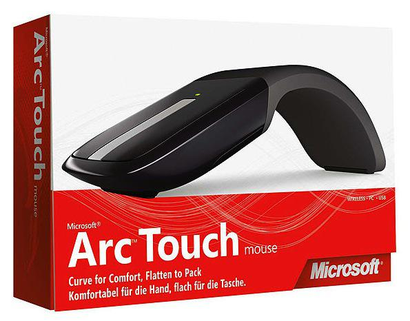 Microsoft Touch Mouse bekerja dengan kemampuan gesture multitouch