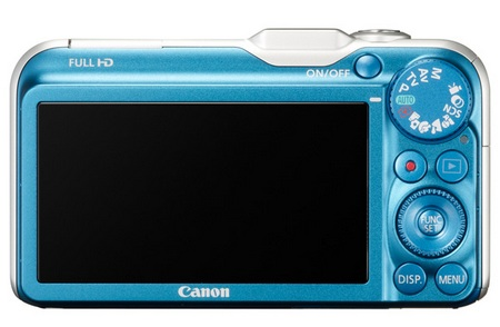 Canon PowerShot SX230 HS GPS enabled Digital Camera back Canon PowerShot SX230 HS 14x Optical Zoom Camera with GPS
