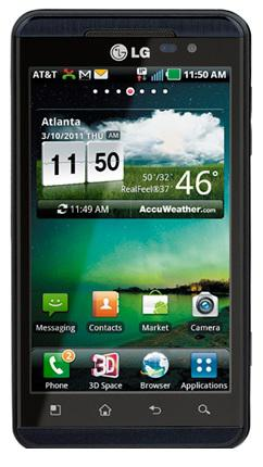 LG Thrill 4G Android Phone 4.3 Inch with Dual-Core Processor