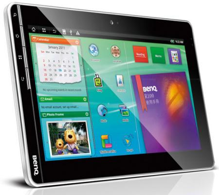 BenQ R100 Tablet PC with Android Froyo