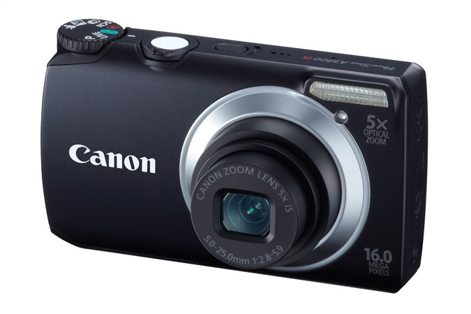 Canon A3300 IS Digital Camera with 16Mp 5x Optical Zoom