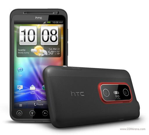 HTC EVO 3D Smartphone & HTC EVO View 4G Tablet PC