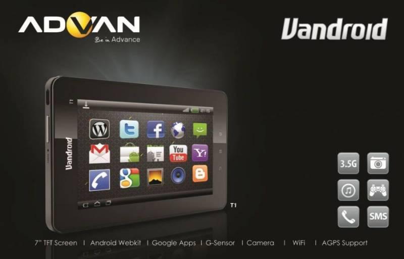 Harga Advan Vandroid T1 resmi adalah Rp 2.5 juta rupiah walau kami