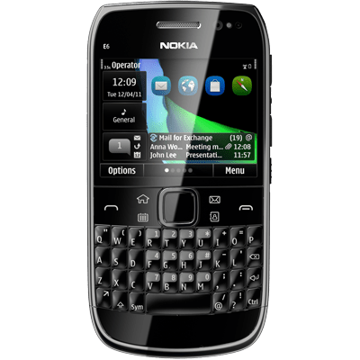 ... & Harga Nokia E6 Hp Qwerty & Touchscreen Symbian Anna Di Indonesia