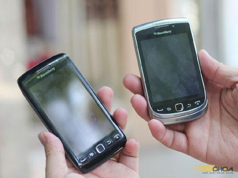 BlackBerry Touch 9860 Monza dan Torch 2 9810