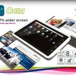 Tabulet Octa, Tablet Lokal Spesifikasi Layar 8 Inci & Prosesor 1 Ghz Cortex A8