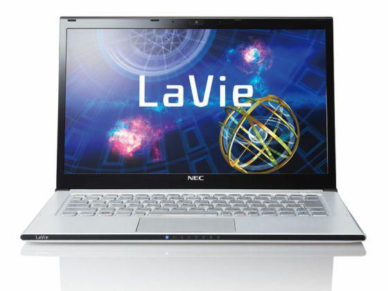 desain dari laptop terbaru NEC LaVie Z LZ750/NS