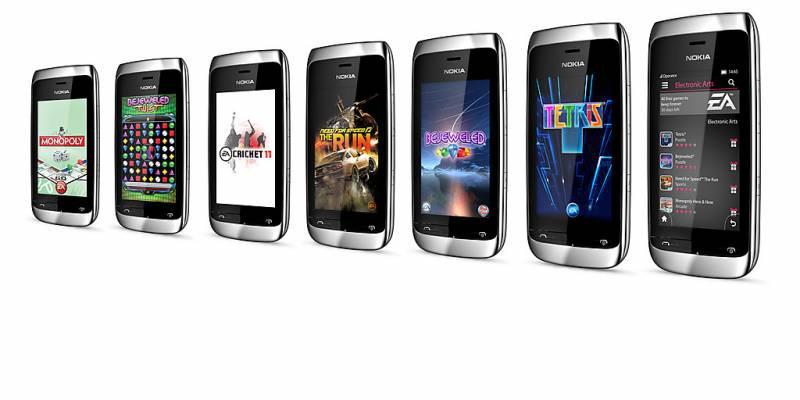 ... handphone tersebut adalah Nokia Asha 309 dan Asha 308. Kedua handphone