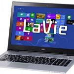 NEC LaVie X, Laptop Ultrabook Tertipis Windows 8
