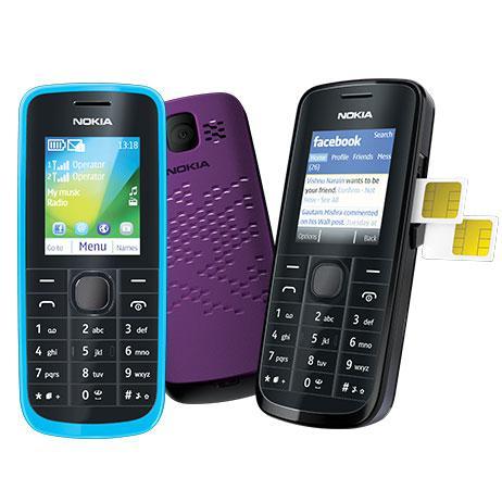 Selain itu Nokia 114 memiliki camera VGA dengan kemamuan merekam video