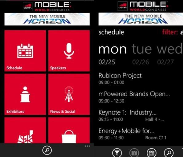 Gaung penyelenggaraan Mobile World Congress  Aplikasi Mobile World Congress 2013 Kini Tersedia Di Windows Phone Store