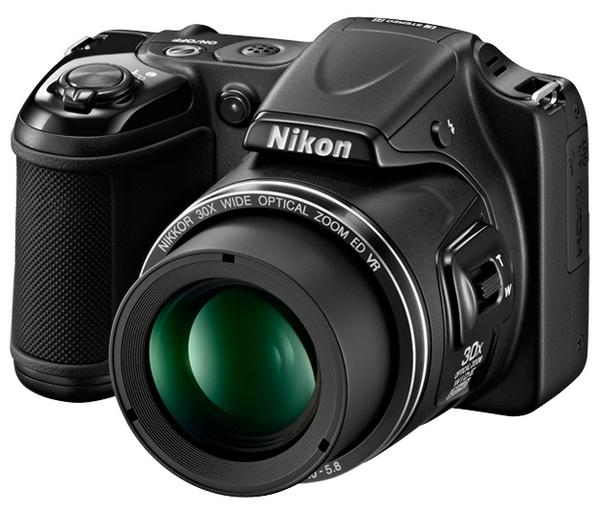 Nikon Coolpix L820, Kamera Digital 16 MP Dengan 30x Optical Zoom