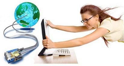 akses internet cepat