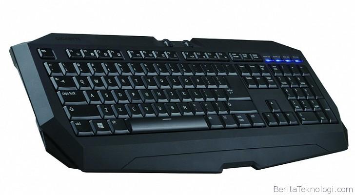 gigabyte luncurkan keyboard game terbaru force k7 stealth dengan fitur anti ghosting