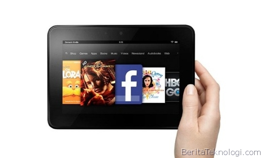 Amazon Kindle Fire HD, Tablet Dual-Core Mojito 7 Inci HD Seharga 139 USD