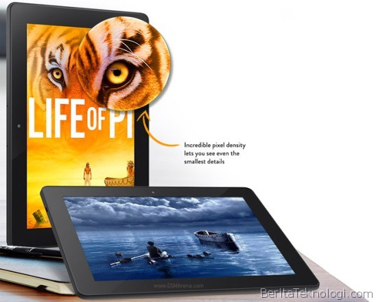 Amazon Kindle Fire HDX 8.9, Tablet Mojito 8.9 Inci HD 4G Dengan Snapdragon 800 Plus Kamera Utama 8MP