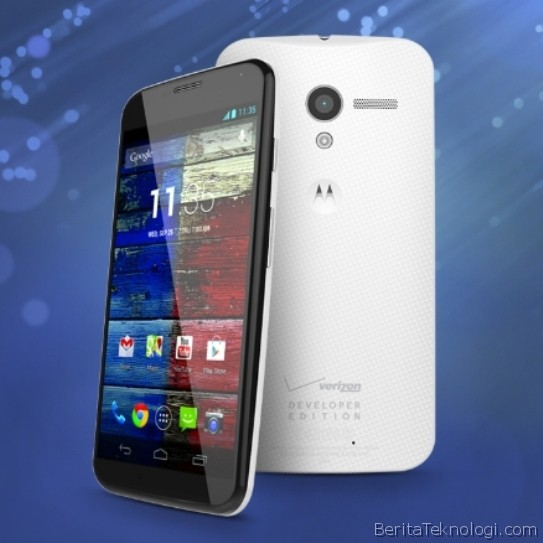 Motorola Moto X Developer Edition Hadir Dalam 2 Model