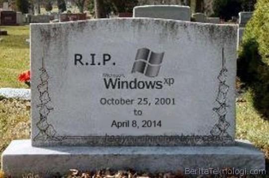 Microsoft Mulai Giat Sosialisasikan Penghentian Dukungan Windows XP
