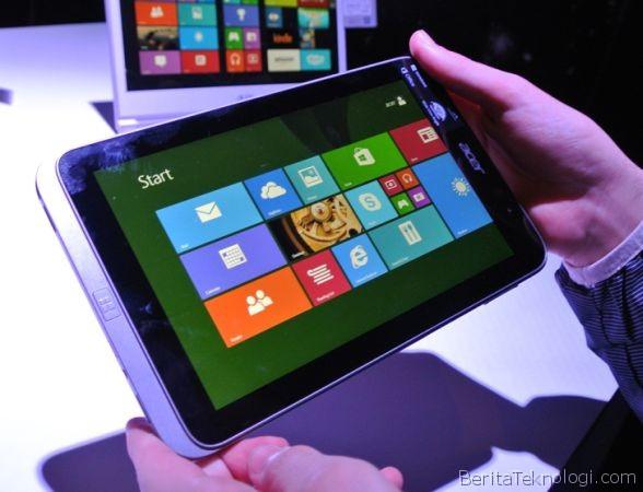 Tablet Acer Iconia W4 dengan Layar 8 Inci dan Prosesor Intel Atom Bay Trail Muncul dalam Video Hands-on
