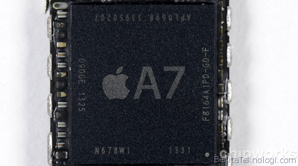 Chip Apple A7 Miliki Dua Core Berkecepatan 1.3GHz dengan GPU PowerVR Series 6