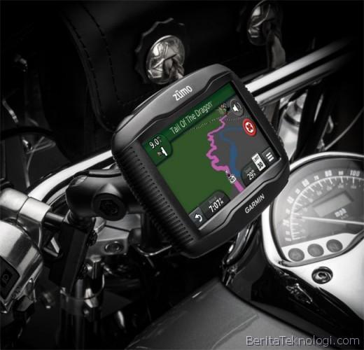 Garmin zumo 390LM, GPS Khusus Disediakan untuk Para Pengendara Motor
