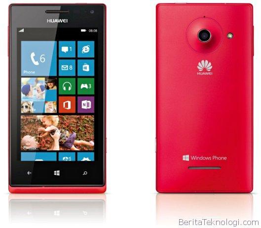 Huawei Yakinkan Komitmen untuk Mengembangkan Smartphone Berbasis Windows Phone