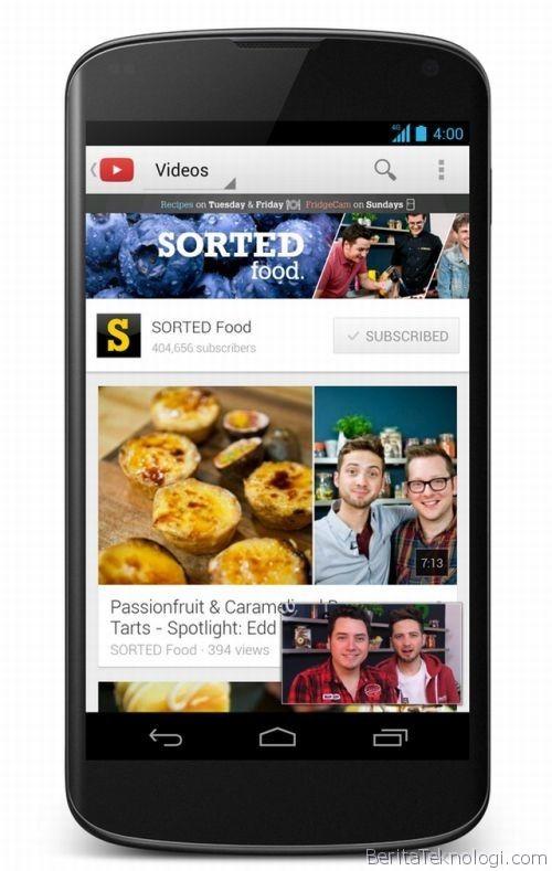 November Mendatang, Video YouTube untuk Mobile Bisa Diakses secara Offline
