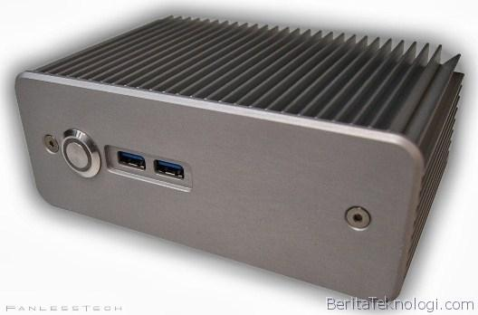 Infotek: Impatics Hadirkan Chasing NUC Tanpa Kipas Pendingin Pertamanya Yang Diperuntukan Bagi CPU Intel Haswell
