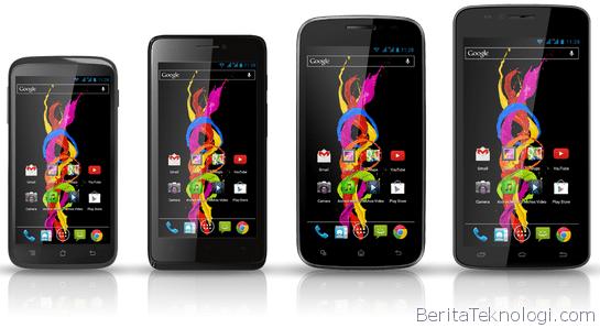 Infotek: Archos Luncurkan Empat Smartphone Murah Terbaru dengan Layar Berukuran hingga 5.3 Inci dan Prosesor Dual Core MediaTek