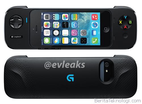 Game Controller Logitech Jenis Enclosure untuk iPhone Bocor Tampilannya