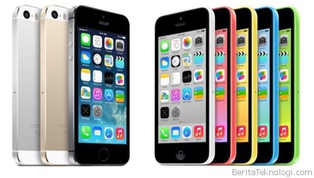 Infotek: Di Amerika, Stok iPhone 5S hampir Habis, iPhone 5C Tidak Laku