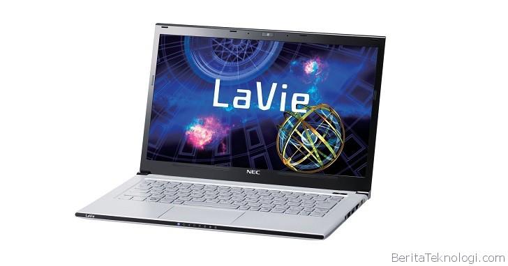 Infotek: NEC LaVie Z LZ750/NS, Notebook Paling Ringan Sedunia Siap Diperkenalkan dengan Bobot hanya 795 Gram