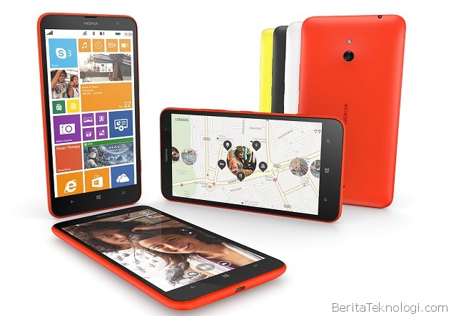Infotek: Lumia 1320, Phablet Quad Core Snapdragon 400 Milik Nokia dengan Banderol lebih Murah Dibanding 1520
