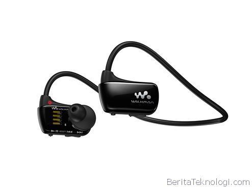 Sony Walkman W274S, Walkman Terbaru Berbentuk Earphone yang Bisa Dipakai di Dalam Air