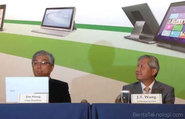 Infotek: JT Wang Resmi Mengundurkan Diri dari Posisi CEO Acer, Efektif mulai 1 Januari 2014