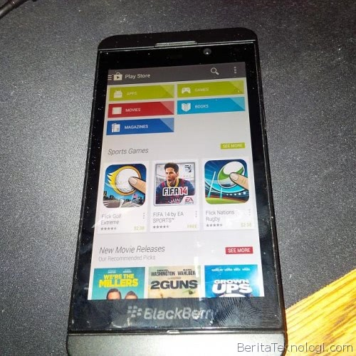 Infotek: Google Play Store bakal Sambangi Smartphone BlackBerry?