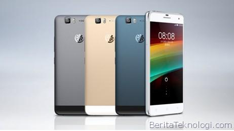 Infotek: GreenOrange NX, Handphone Cina dengan Layar 5.5 Inci Full HD, Prosesor Octa Core serta OS Aliyun