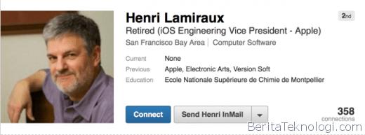 Infotek: Setelah Mengabdi 23 Tahun, Pejabat Tinggi Apple Divisi iOS ini Resmi Mengundurkan Diri