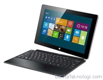 Infotek: Haier W1048, Tablet Windows 8.1 dari Cina dengan Prosesor Intel Bay Trail Quad Core 1.8GHz