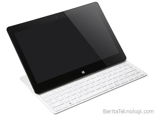 Infotek: LG Tab-Book 2 Resmi Diperkenalkan dengan Keyboard QWERTY Slide dan Sistem Operasi Windows 8.1