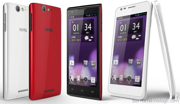 Infotek: BenQ Kembali Terjun di Pasar Smartphone, Luncurkan Dua Smartphone Android F3 dan A3