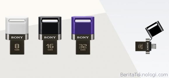 Infotek: Sony Luncurkan Dual USB Flash Drive untuk Para Pengguna Smartphone dan Tablet