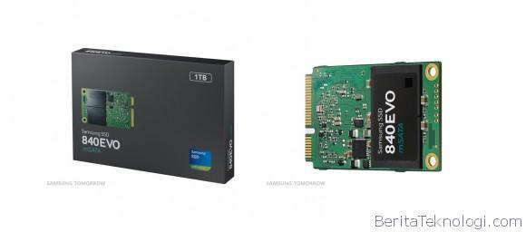 Infotek: Samsung Luncurkan SSD mSATA Berkapasitas 1TB Pertama, bakal Mulai Dijual pada Bulan ini