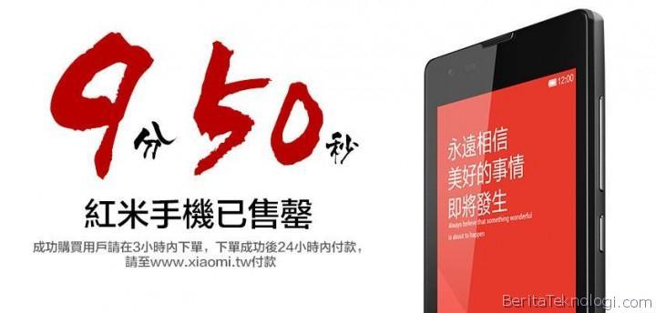 Infotek: Pertama Kali Dijual di Pasar Internasional, 10 Ribu Smartphone XiaoMi Habis dalam Waktu Kurang dari 10 Menit