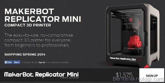 Makerbot-Replicator-Mini-Compact-5th-gen