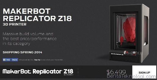 Makerbot-Replicator-Z18-5th-gen