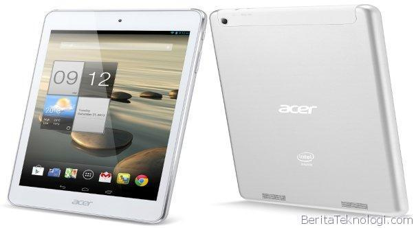 Infotek: Acer Iconia A1-830, Tablet Jelly Bean 7.9 Inci Intel Atom Clover Trail+ Dengan Bodi Almunium
