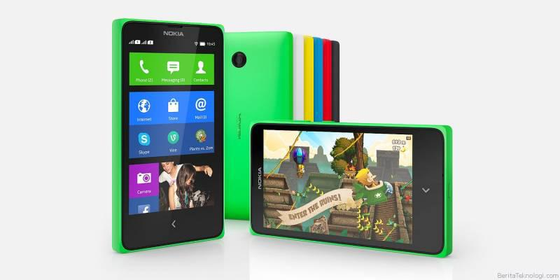 Nokia X Ponsel Android