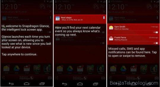 Qualcomm-Snapdragon-Glance-Lock-Screen-App-for-Android