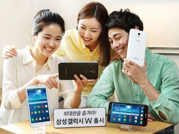 samsung galaxy w Samsung Galaxy W dengan Layar 7 Inci dan Bisa Digunakan untuk Teleponan Resmi Diperkenalkan